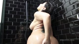 Anal Sex and Golden Rain in the Shower, Anal Creampies, Pee AL021