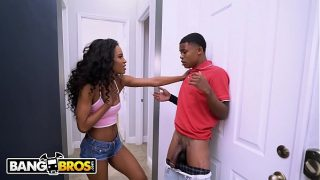 BANGBROS – Lil D. Somehow Ends Up Fucking His Step Sister Demi Sutra