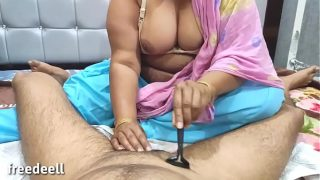 Indian sis shaved my hair and suck ( Full Hindi XXX)