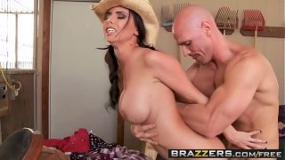 Big TITS in uniform – (Brandy Aniston, Johnny Sins) – Country Rubes Have The Greatest Boobs – Brazzers