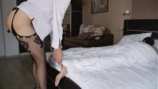 Good Morning Starts With Strapon Ass Fuck. Mary Cherry 15 min