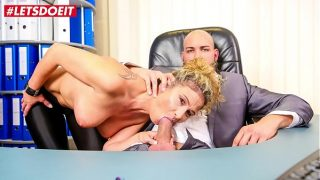LETSDOEIT – Busty MILF Secretary Izzy Mendosa Tease And Bangs At The Office With Young Passionate Boss