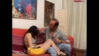 sex in Italian family – daughter does blowjob to her father
