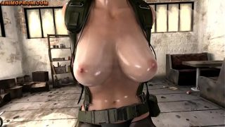 (WITH FART) Quiet from Metal Gear Solid finally talks – Part 1 (NO HORSE) 10 min